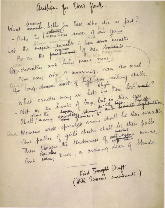 wilfred owens contentious depiction of war One way in which owen's poetry might have been different had he not been in military battle would lie in its depiction of war itself wilfred owen's participation in the war made him aware of its .
