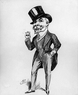 Ernest Alfred Bendall by Harry Furniss