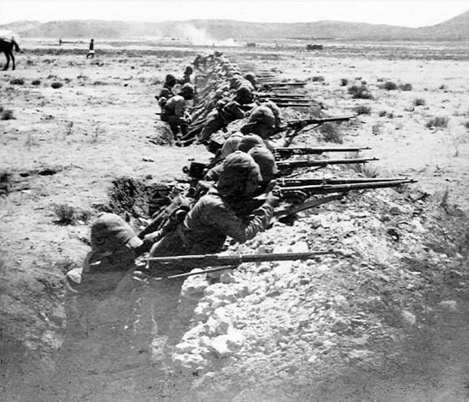 boer war trench