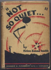 not so quiet cover