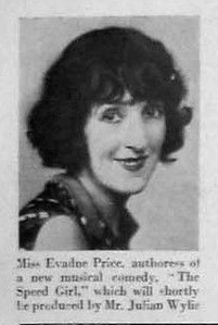 Evadne price in 1930