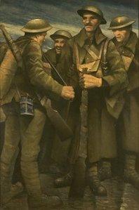 nevinson soldiers