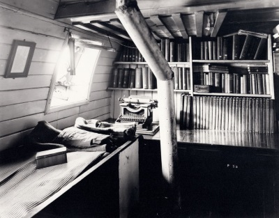 shackleton cabin